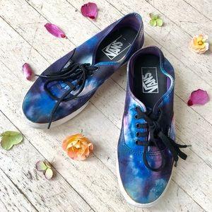 Galaxy Vans skate shoes